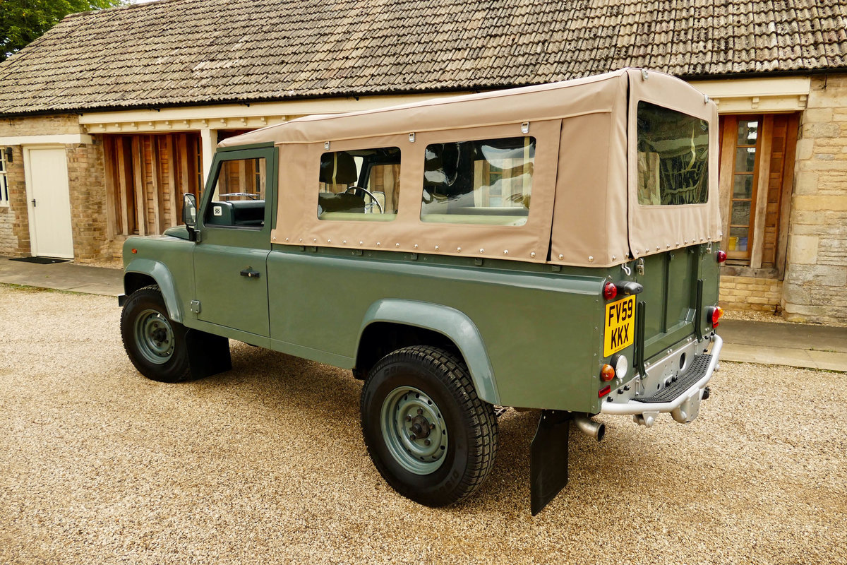 2008 LAND ROVER 110 2.4TDci Pick Up  For Sale (picture 5 of 6)
