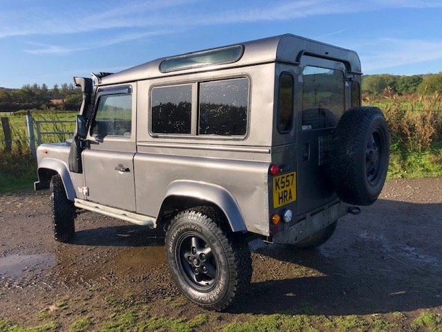 1993 Land Rover Defender 200tdi, Galvanised chassis For Sale (picture 2 of 6)
