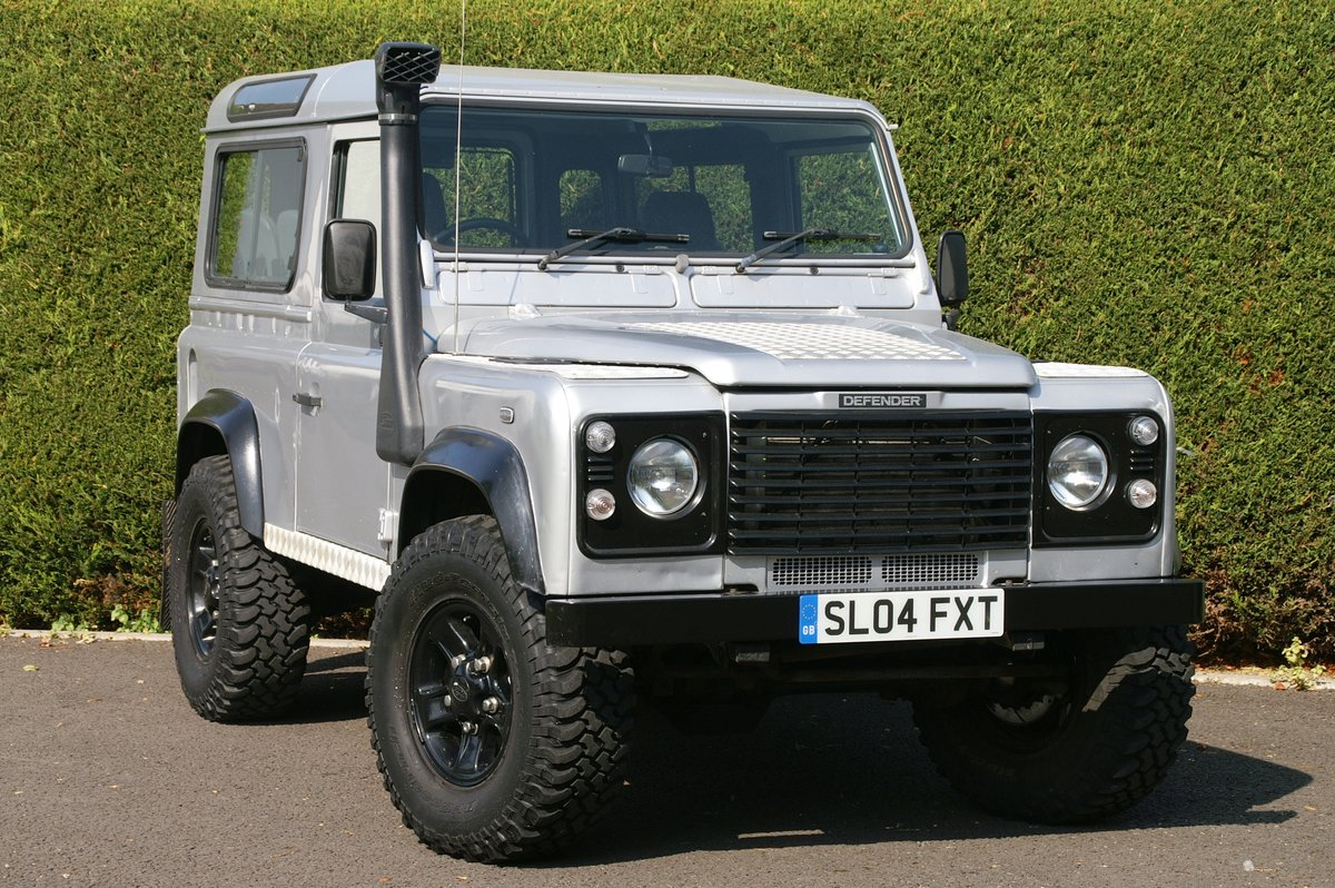 2004 Land Rover Defender 90 TD5 County Station Wagon SOLD (picture 1 of 6)