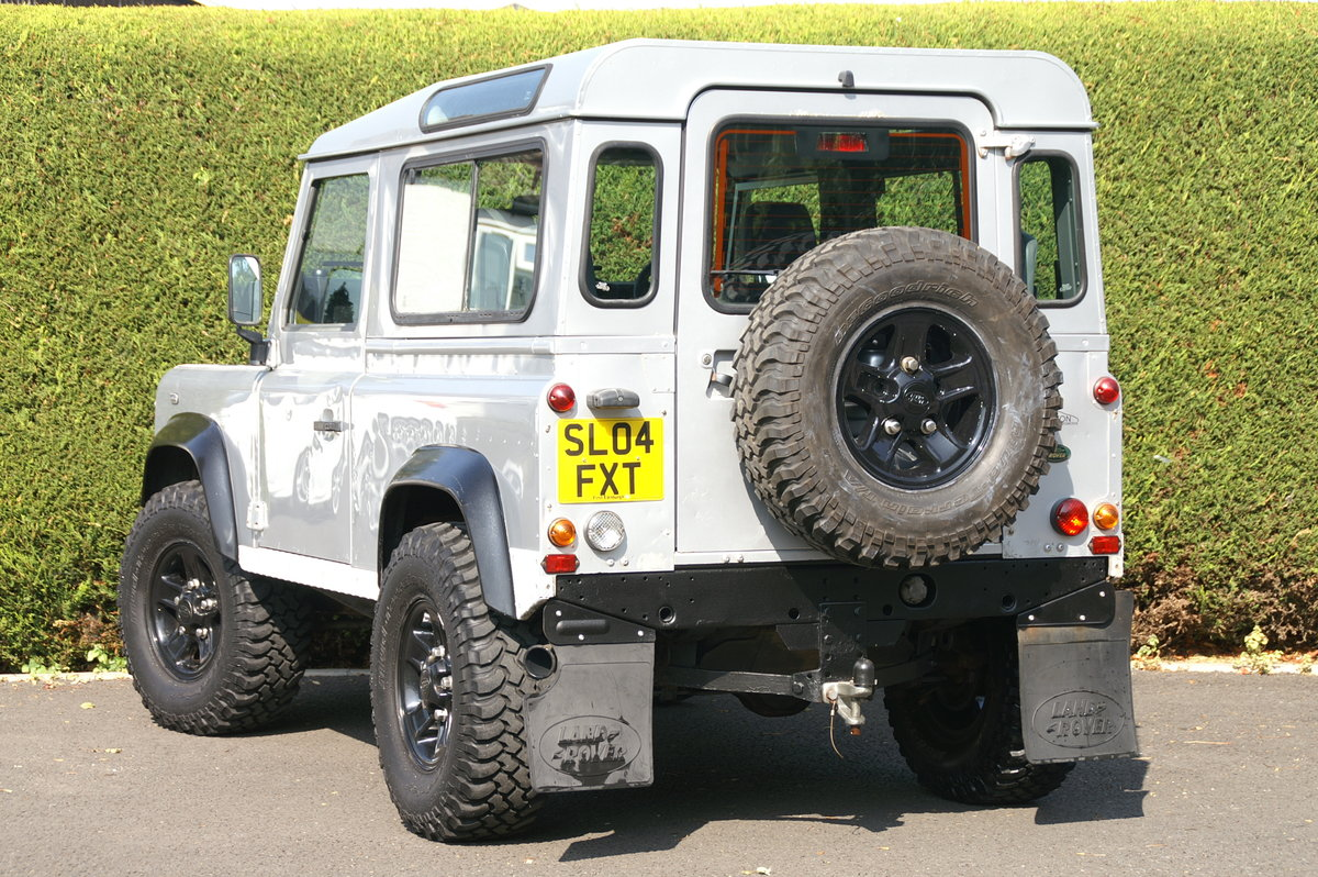 2004 Land Rover Defender 90 TD5 County Station Wagon SOLD (picture 6 of 6)