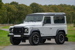 2016 Land Rover Defender 90 V8 Works 70th Anniversary