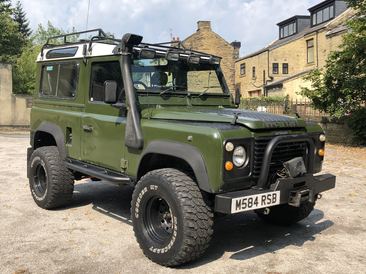 1995 /m Land rover defender 90 300tdi For Sale (picture 1 of 6)