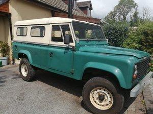 Pristine Land Rover 110