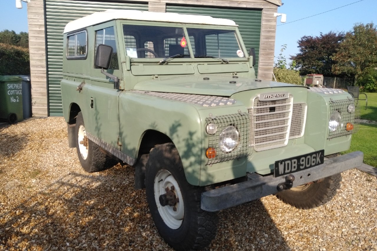 1972 Landrover S3 swb with 200Di engine fitted. SOLD (picture 1 of 6)