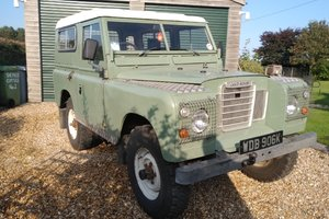 Landrover S3 swb with 200Di engine fitted.