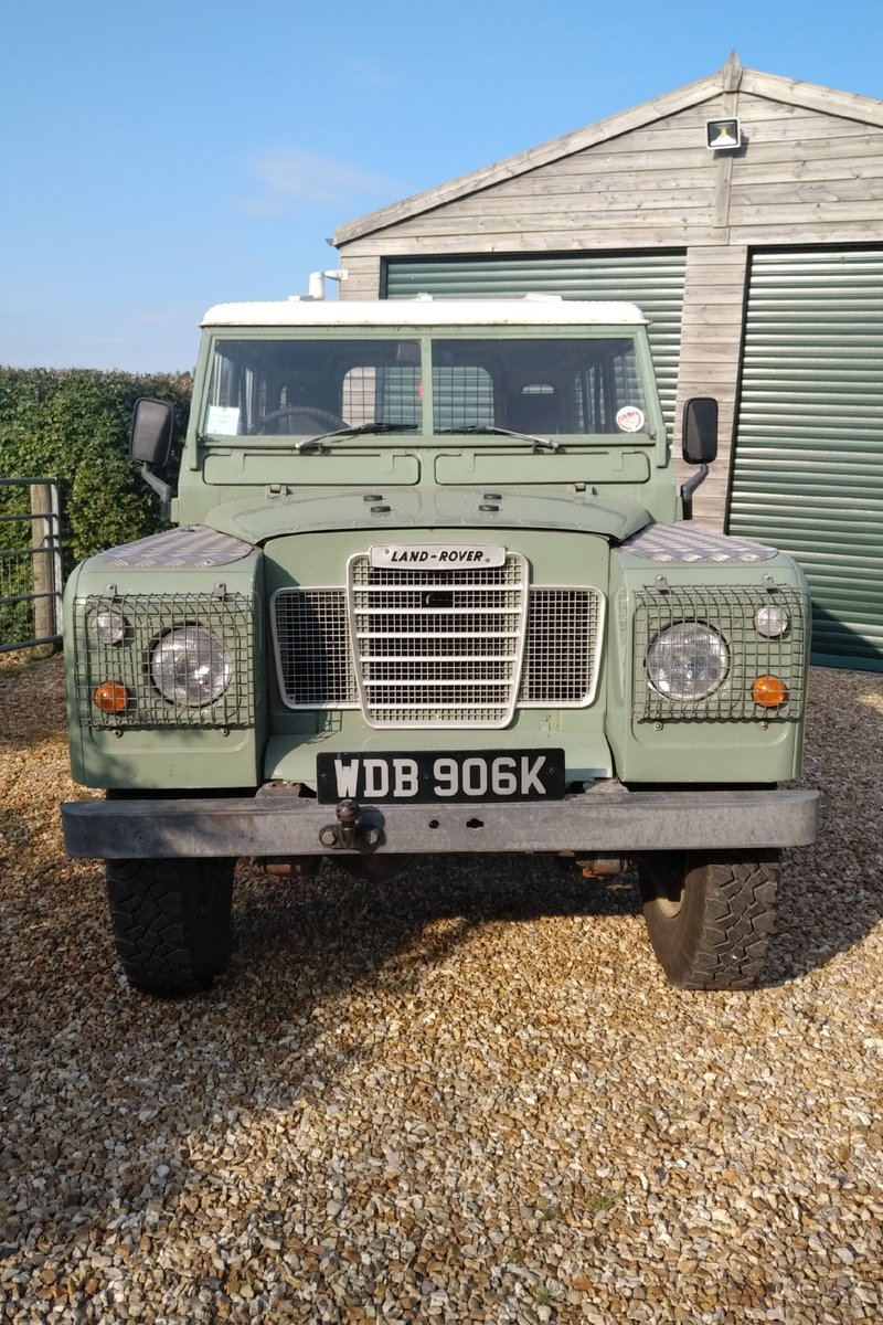 1972 Landrover S3 swb with 200Di engine fitted. SOLD (picture 3 of 6)