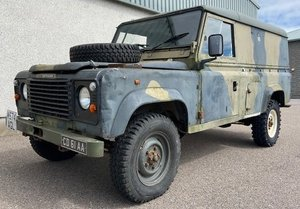 Ex Military LAND ROVER Defender 110