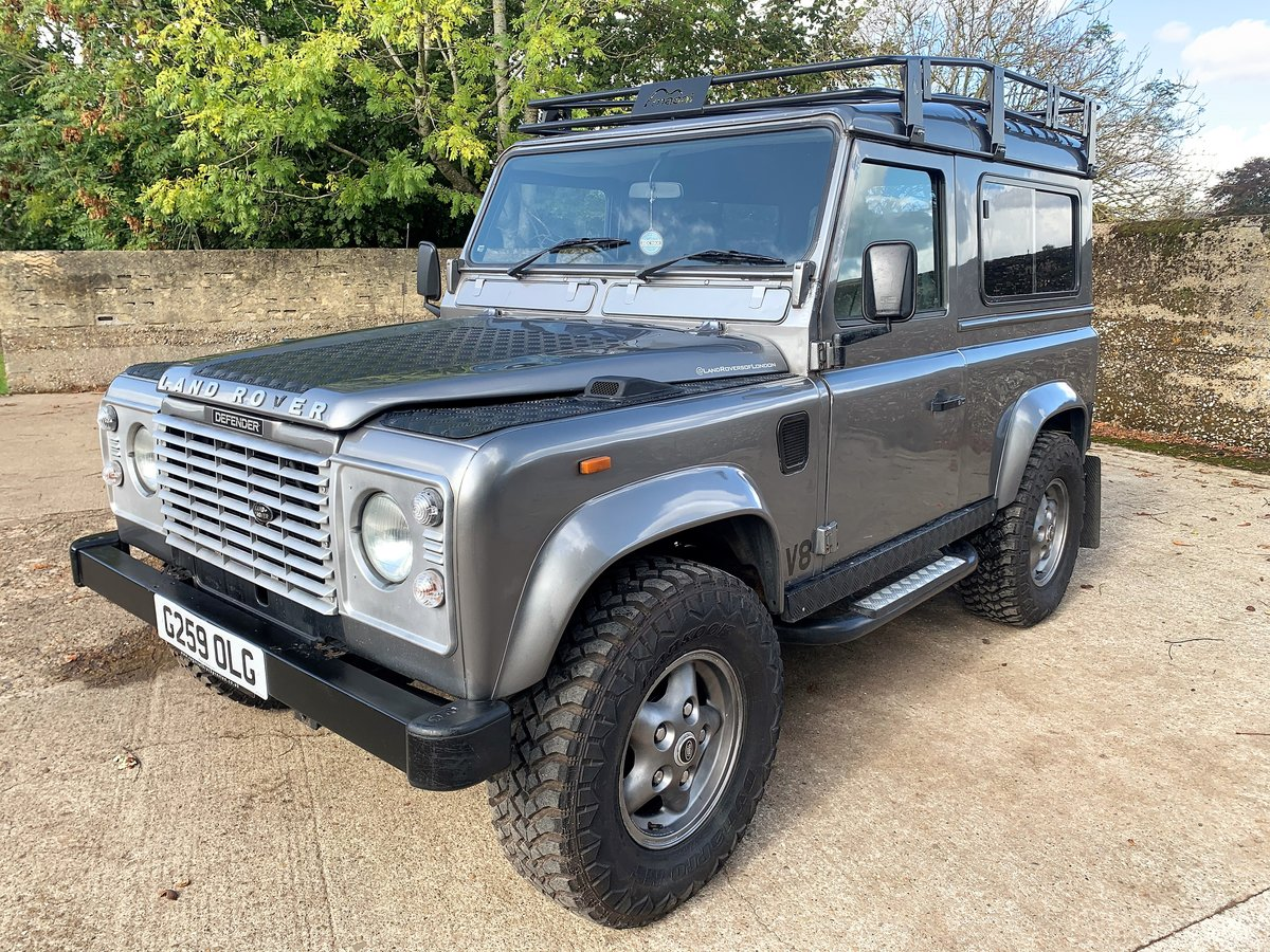 1989 LAND ROVER 90 WITH TUNED ROVER V8 CONVERSION SOLD (picture 2 of 6)