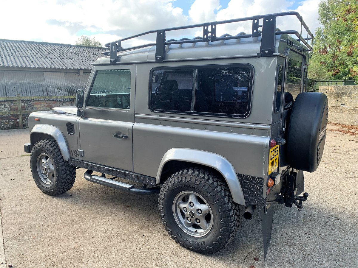 1989 LAND ROVER 90 WITH TUNED ROVER V8 CONVERSION SOLD (picture 3 of 6)