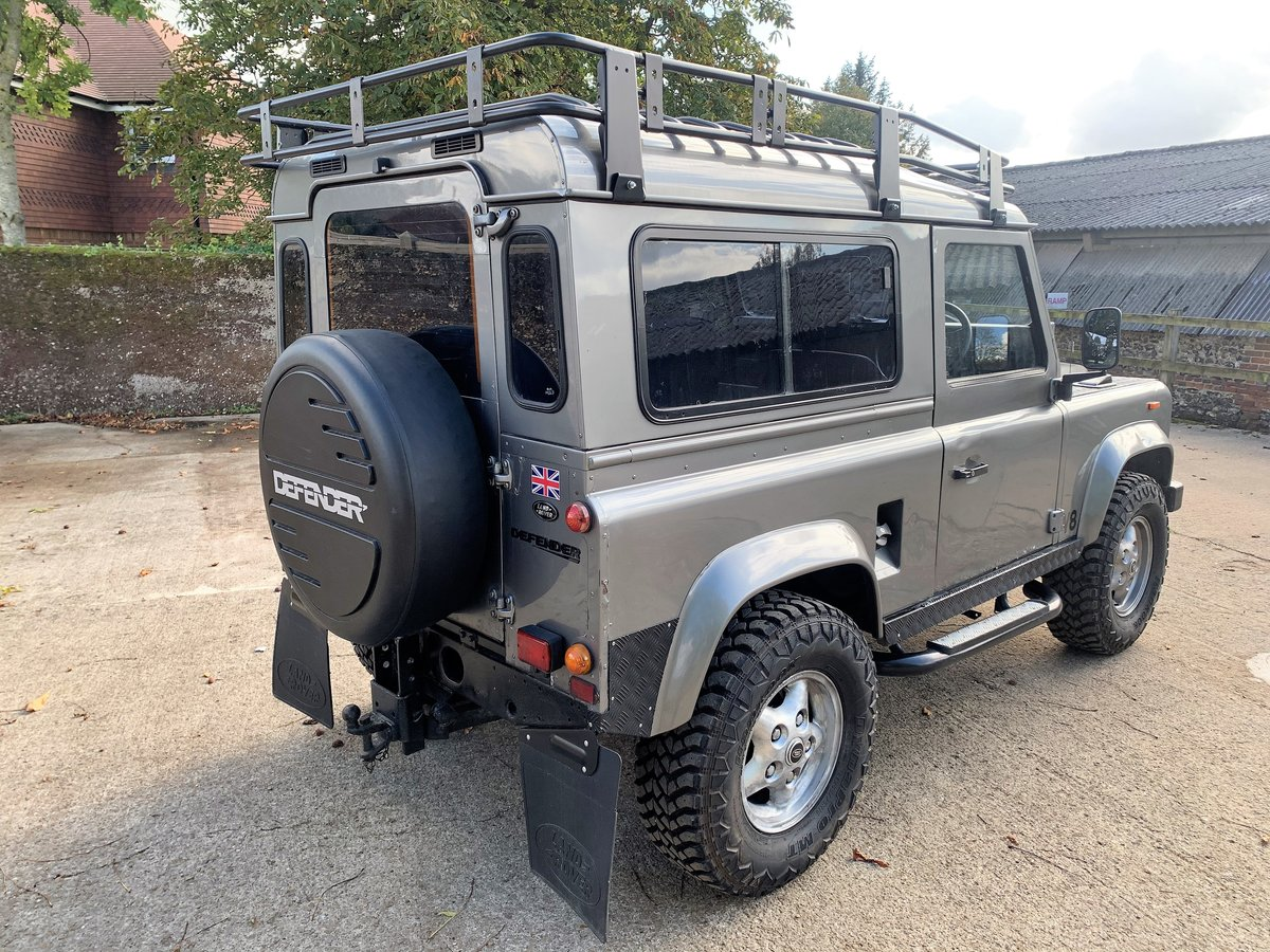 1989 LAND ROVER 90 WITH TUNED ROVER V8 CONVERSION SOLD (picture 4 of 6)