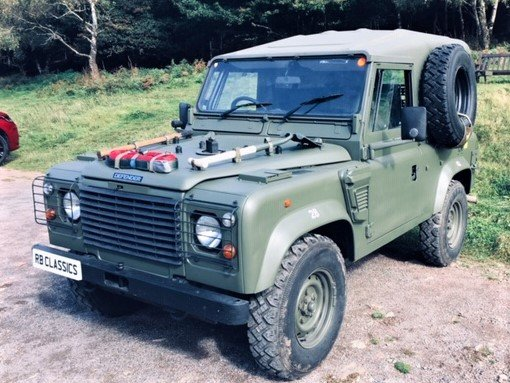 1998 Defender Wolf 90 300Tdi 2.5 Hardtop - NOW SOLD SOLD (picture 1 of 6)