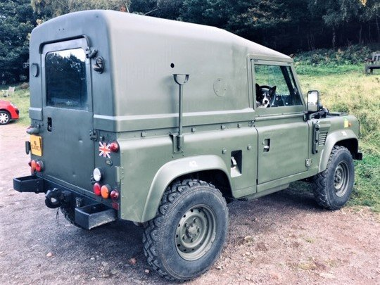 1998 Defender Wolf 90 300Tdi 2.5 Hardtop - NOW SOLD SOLD (picture 6 of 6)
