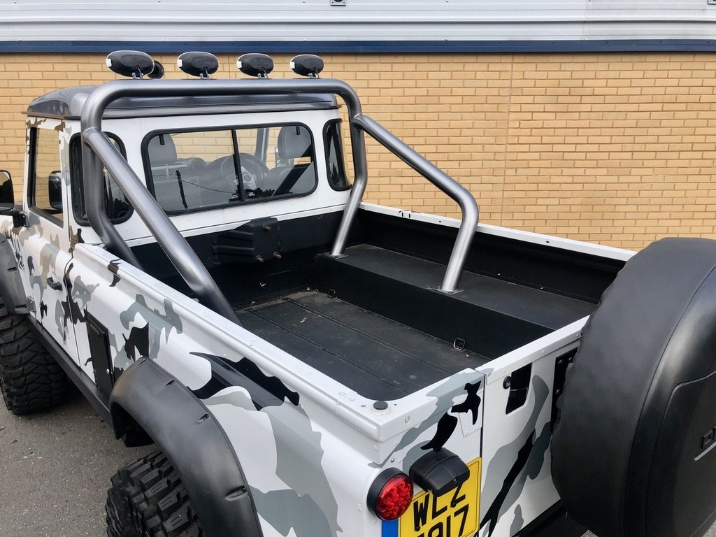 2009 LAND ROVER DEFENDER 110 // MONSTER TRUCK // PICK UP // 2.4L For Sale (picture 10 of 10)