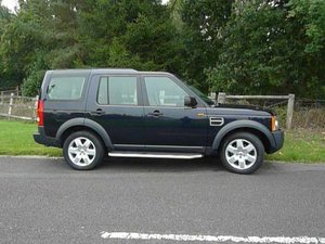 Land rover Discovery  3, Metallic Dark Blue