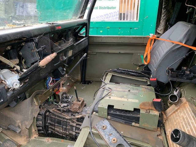 1997 Left Hand Drive 110 Defender Wolf XD TUM For Repair For Sale (picture 4 of 6)