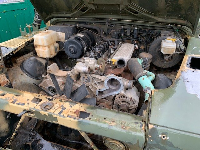 1997 Left Hand Drive 110 Defender Wolf XD TUM For Repair For Sale (picture 6 of 6)