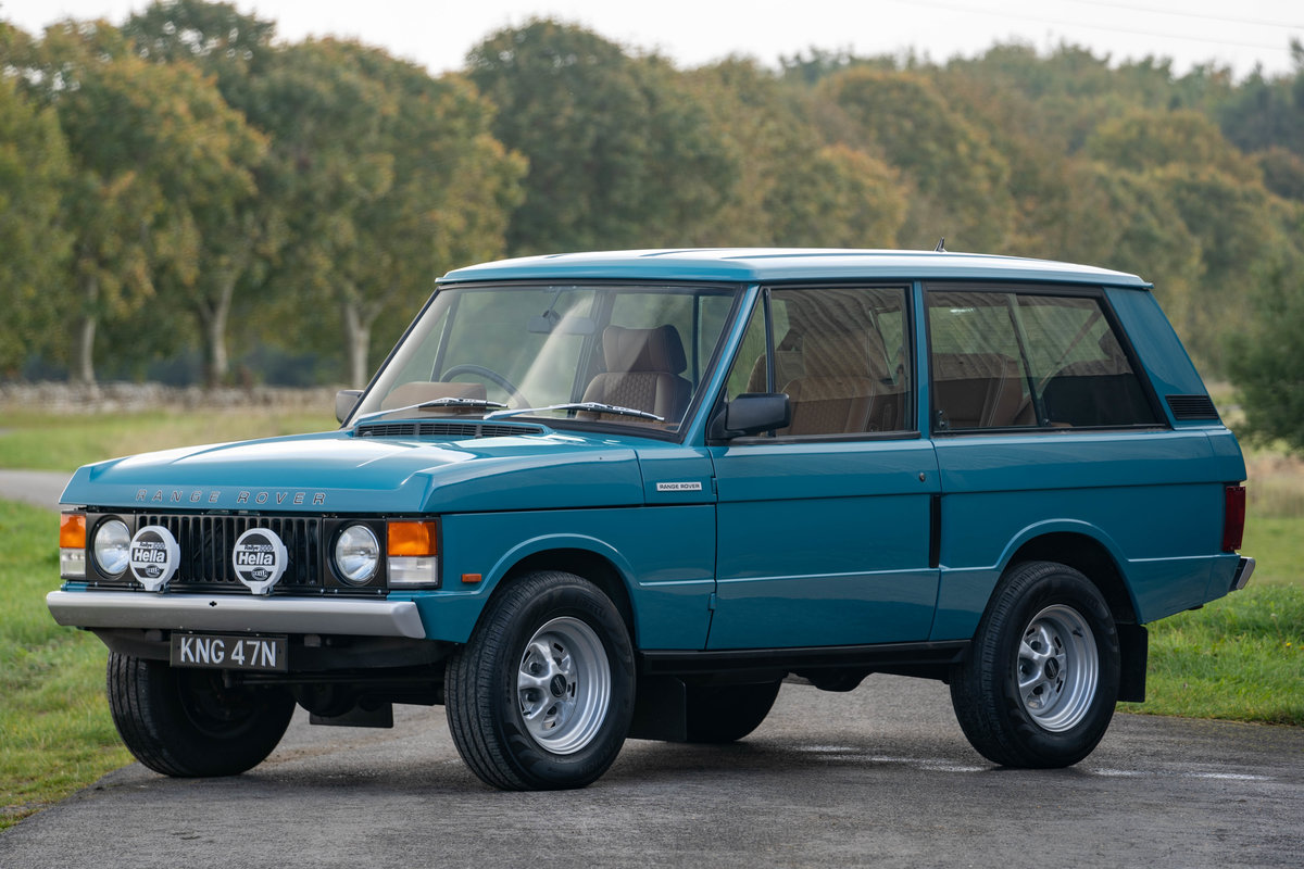 1992 Range Rover 4.5 Re-Engineered by Kingsley For Sale (picture 1 of 6)