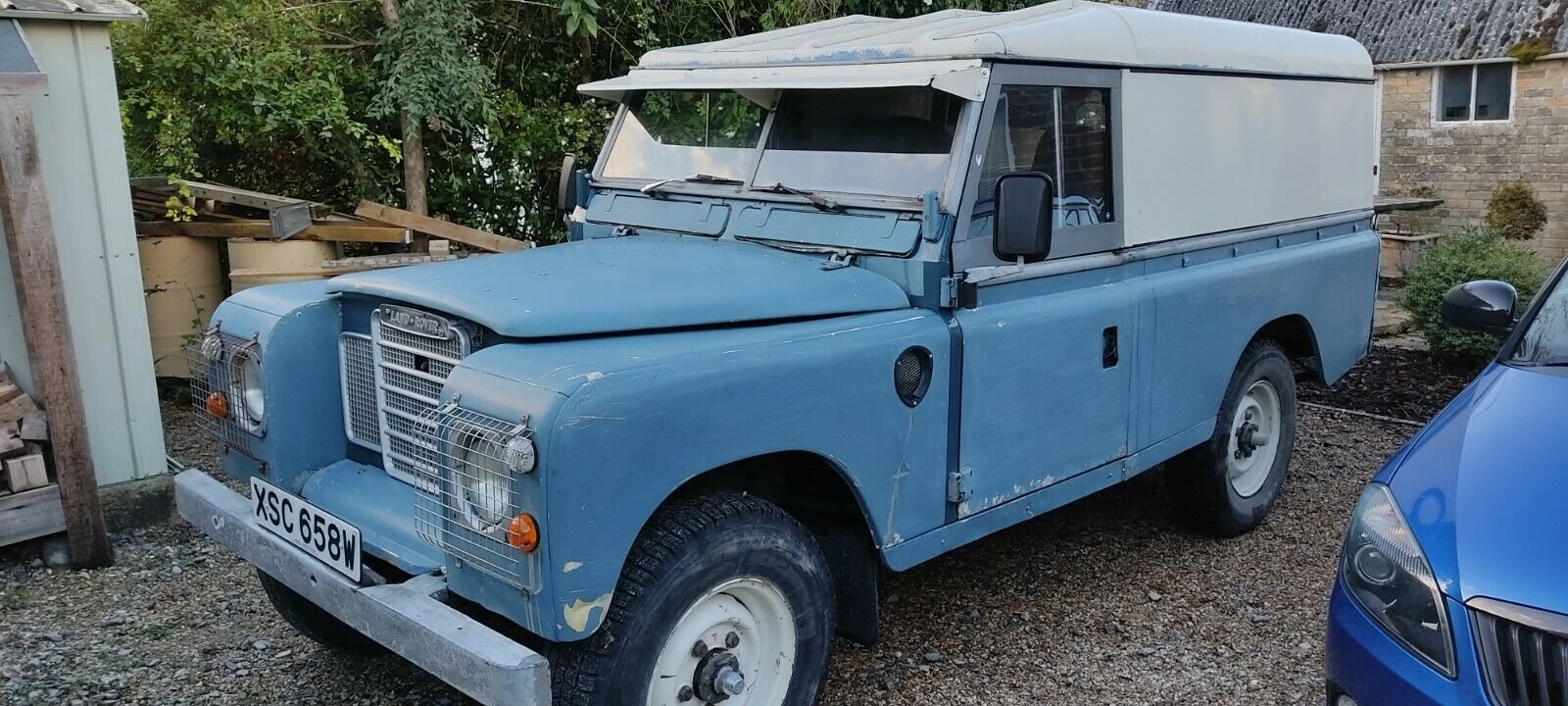 1980 Land Rover Series 3, 109, Blue, MOT'd SOLD (picture 1 of 6)