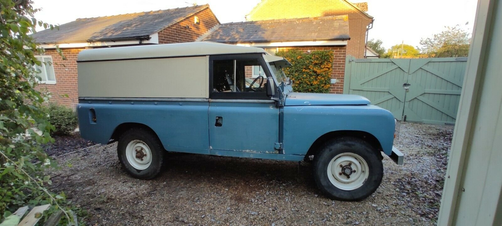 1980 Land Rover Series 3, 109, Blue, MOT'd SOLD (picture 2 of 6)
