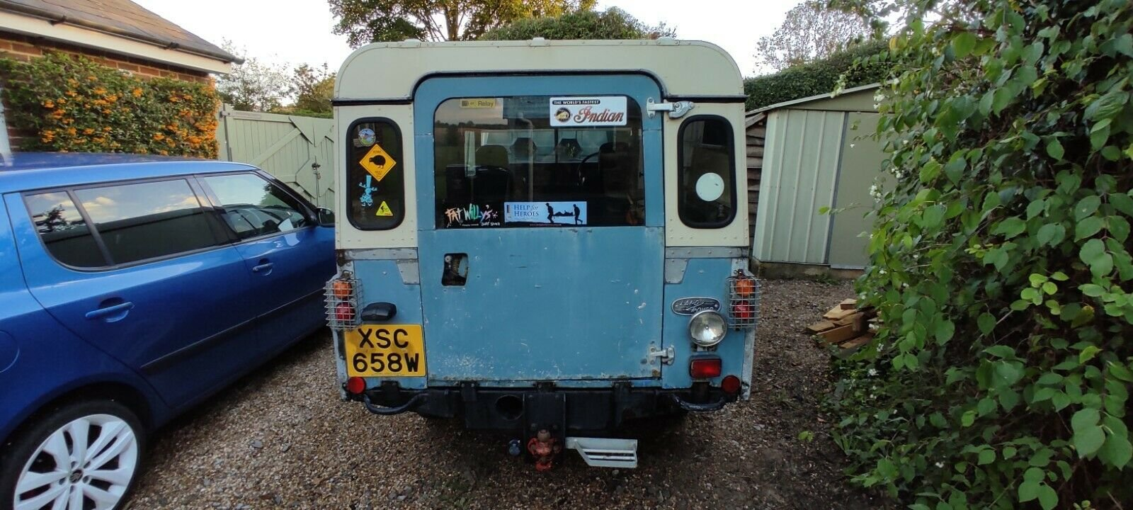 1980 Land Rover Series 3, 109, Blue, MOT'd SOLD (picture 3 of 6)