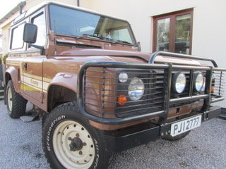 1986 90 County V8 Only 38000m original factory paint SOLD (picture 4 of 6)