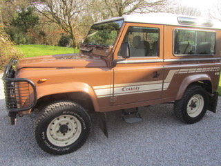 1986 90 County V8 Only 38000m original factory paint SOLD (picture 6 of 6)