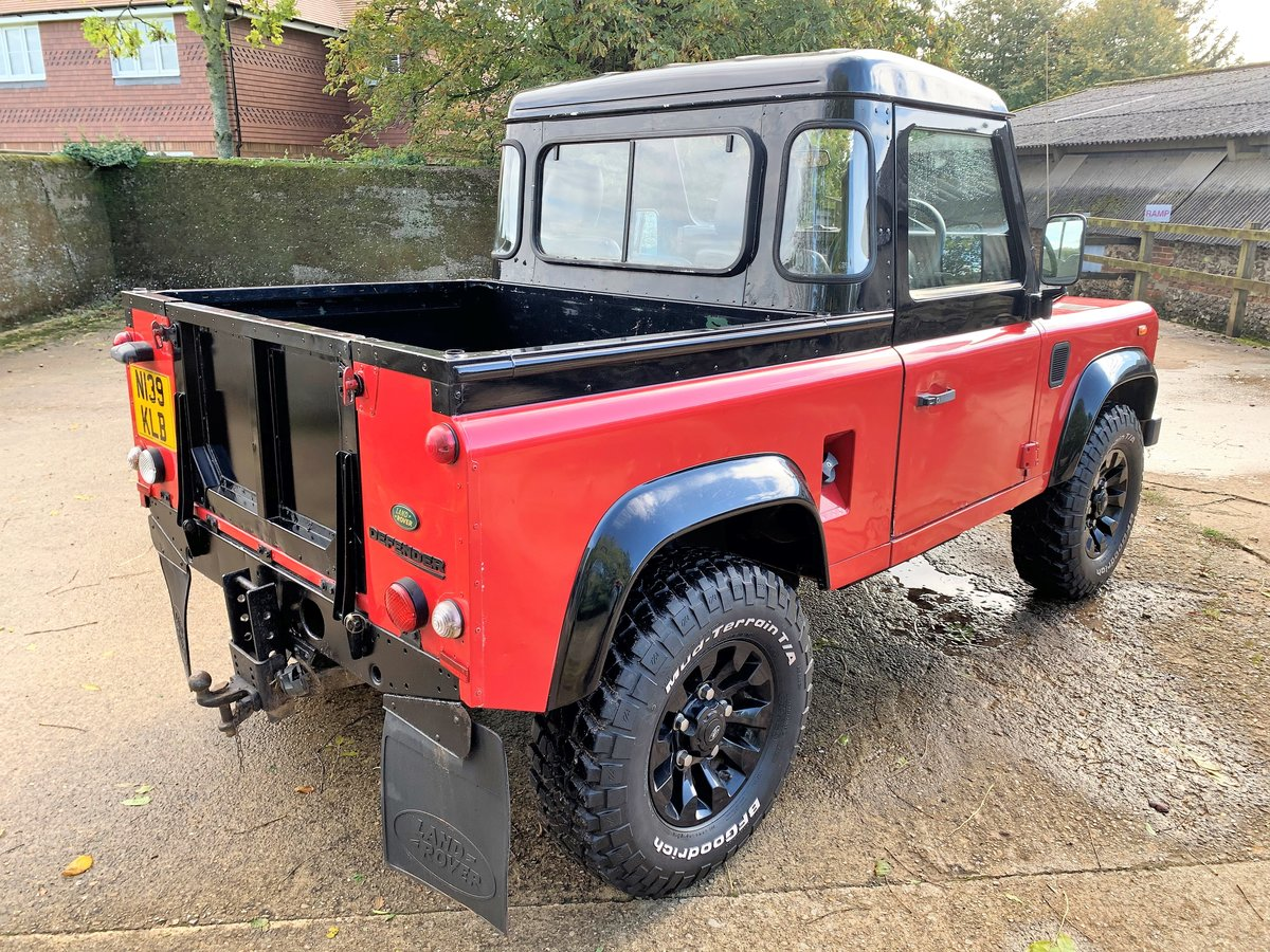 1996 DEFENDER 90 300TDi TRUCK CAB+LOW MILES SOLD (picture 4 of 6)