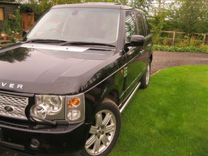 range rover vogue td6, looks great