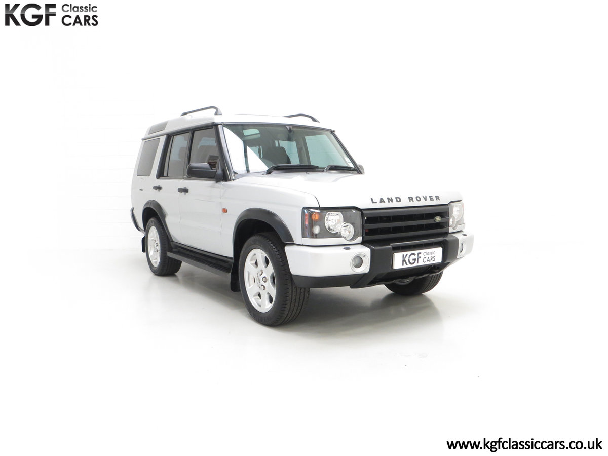 2003 An Exceptional Land Rover Discovery TD5 XS with 40,485 Miles SOLD (picture 1 of 24)