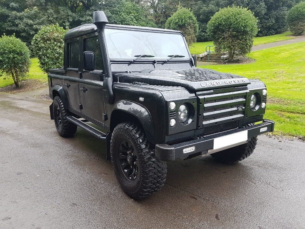 2008 LAND ROVER DEFENDER 110 DOUBLE CAB For Sale (picture 1 of 6)