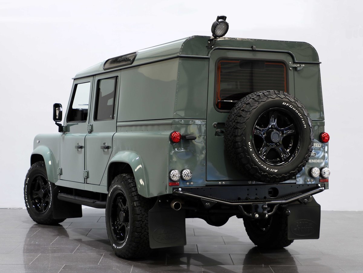 2015 15 15 LAND ROVER DEFENDER 110 COUNTY UTILITY [PRICE + VAT] For Sale (picture 4 of 6)