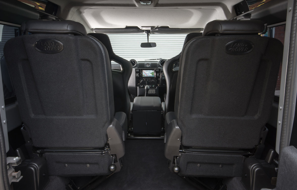 2012 LAND ROVER DEFENDER 90 XS | TWEAKED URBAN EDITION For Sale (picture 4 of 4)