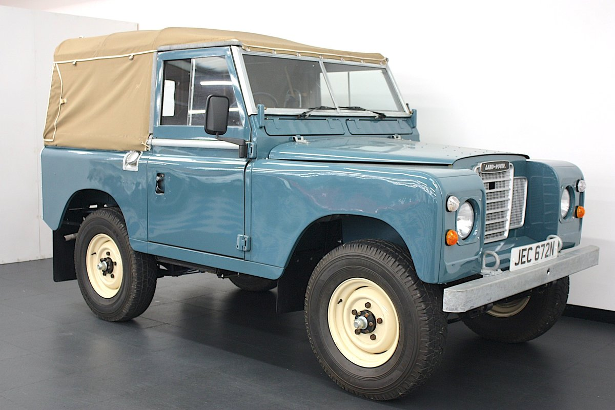 """Land Rover 88"""" Series III  2.25 Petrol 1975, 4 Speed Manual. For Sale (picture 1 of 6)"""