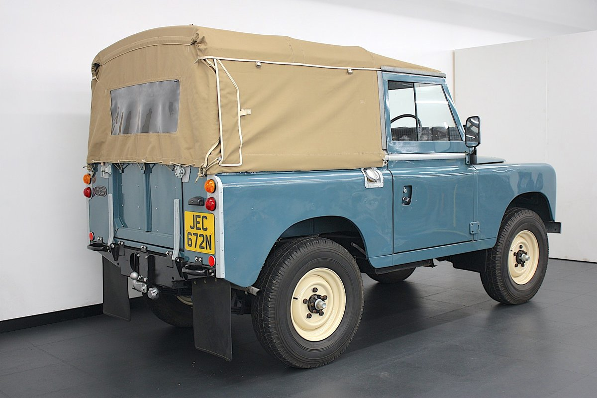 """Land Rover 88"""" Series III  2.25 Petrol 1975, 4 Speed Manual. For Sale (picture 2 of 6)"""