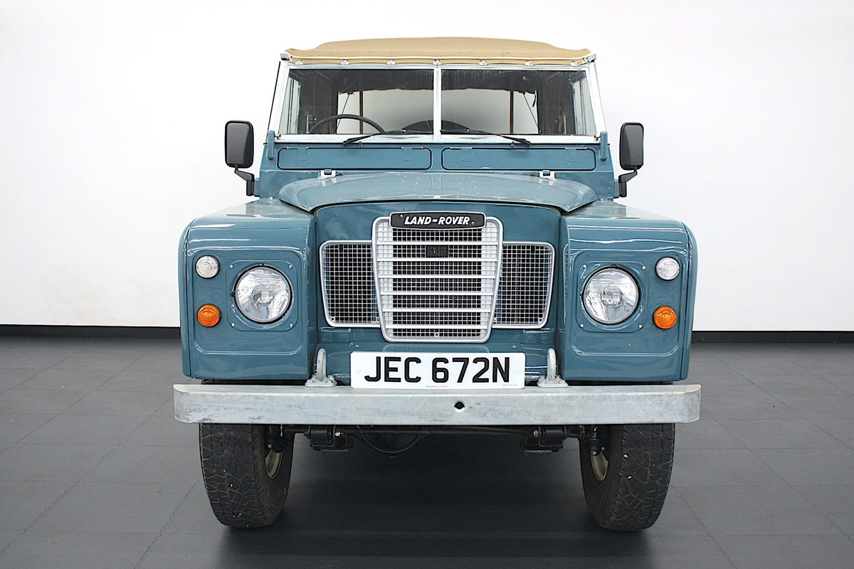 """Land Rover 88"""" Series III  2.25 Petrol 1975, 4 Speed Manual. For Sale (picture 3 of 6)"""
