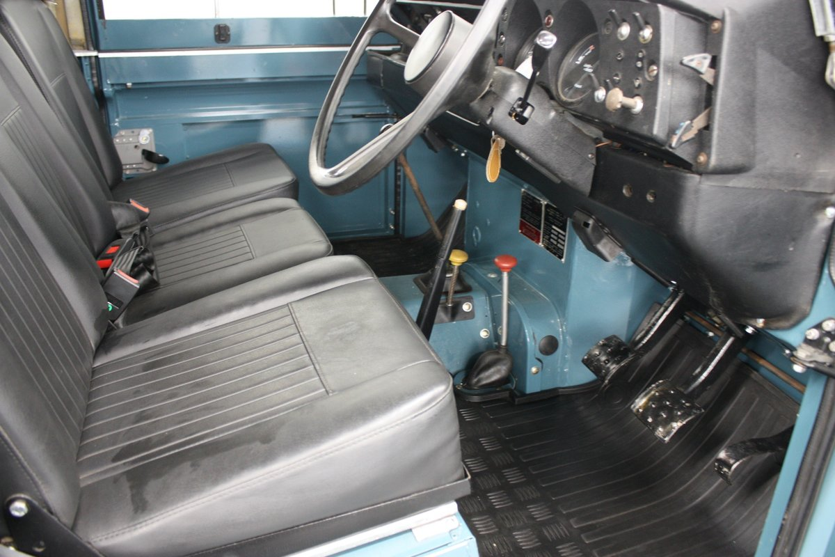 """Land Rover 88"""" Series III  2.25 Petrol 1975, 4 Speed Manual. For Sale (picture 4 of 6)"""