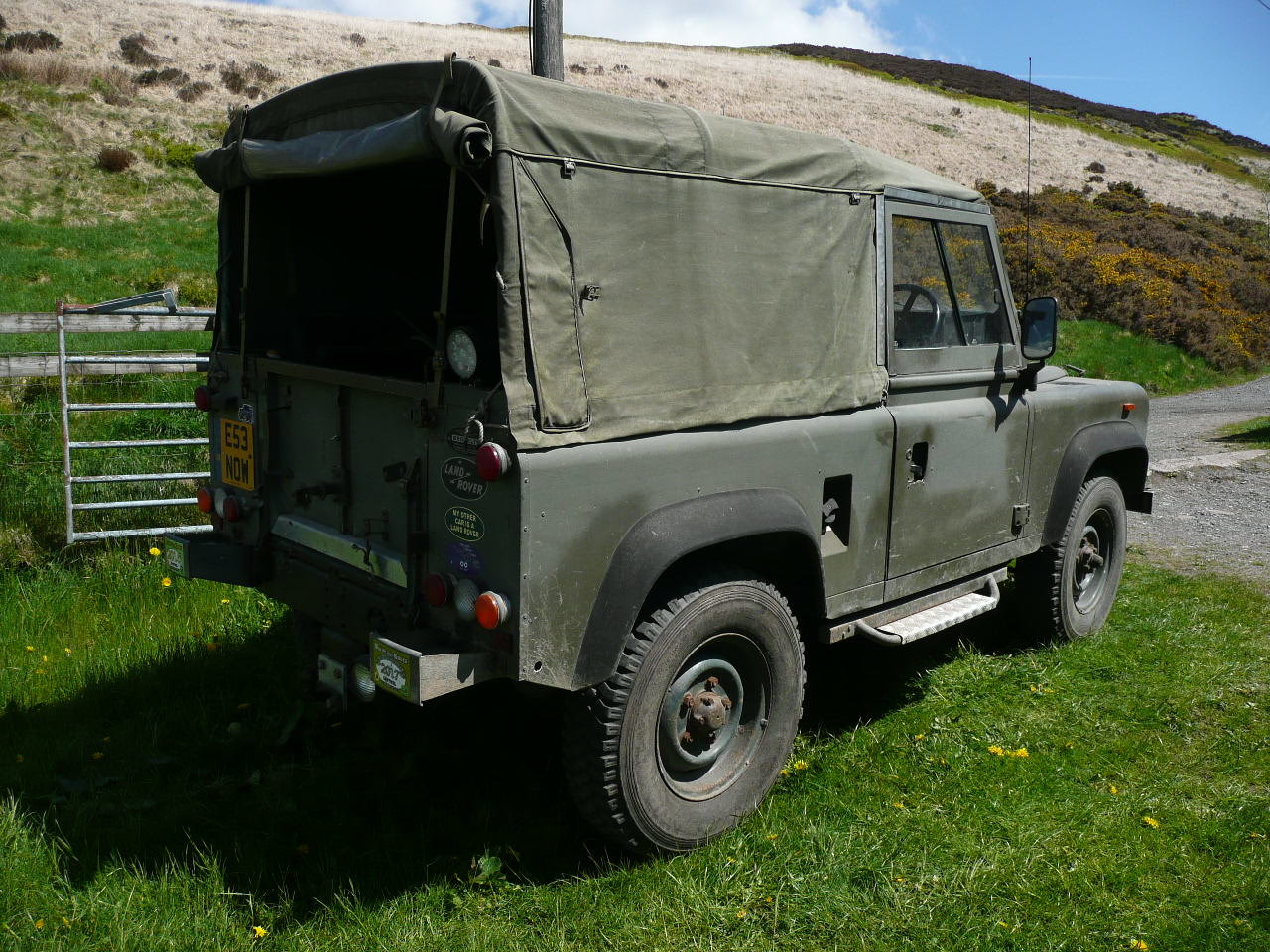 1987 Ex military  Land Rover 90 For Sale (picture 2 of 4)