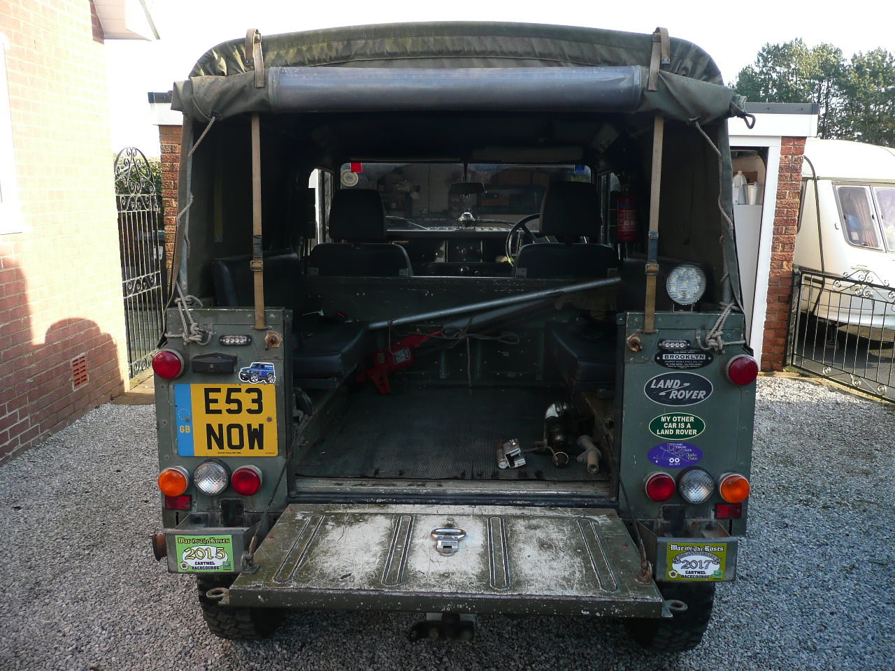 1987 Ex military  Land Rover 90 For Sale (picture 3 of 4)