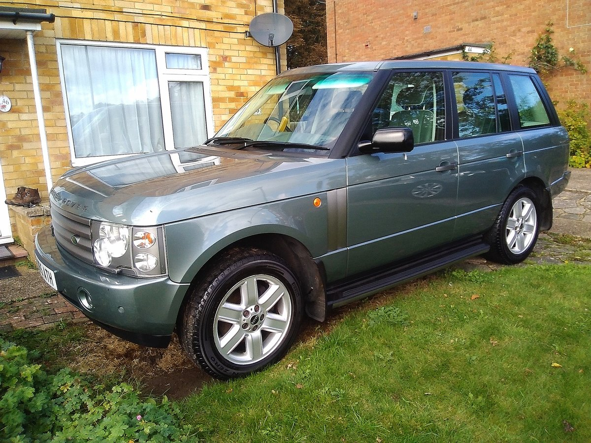 2002 Range Rover Superb one owner example For Sale (picture 1 of 6)