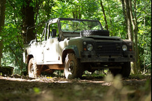 Picture of 1989 Land rover defender 110 saf military soft top