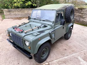 Picture of lovely 1998 Defender 90 300TDi Wolf soft top 6 seater
