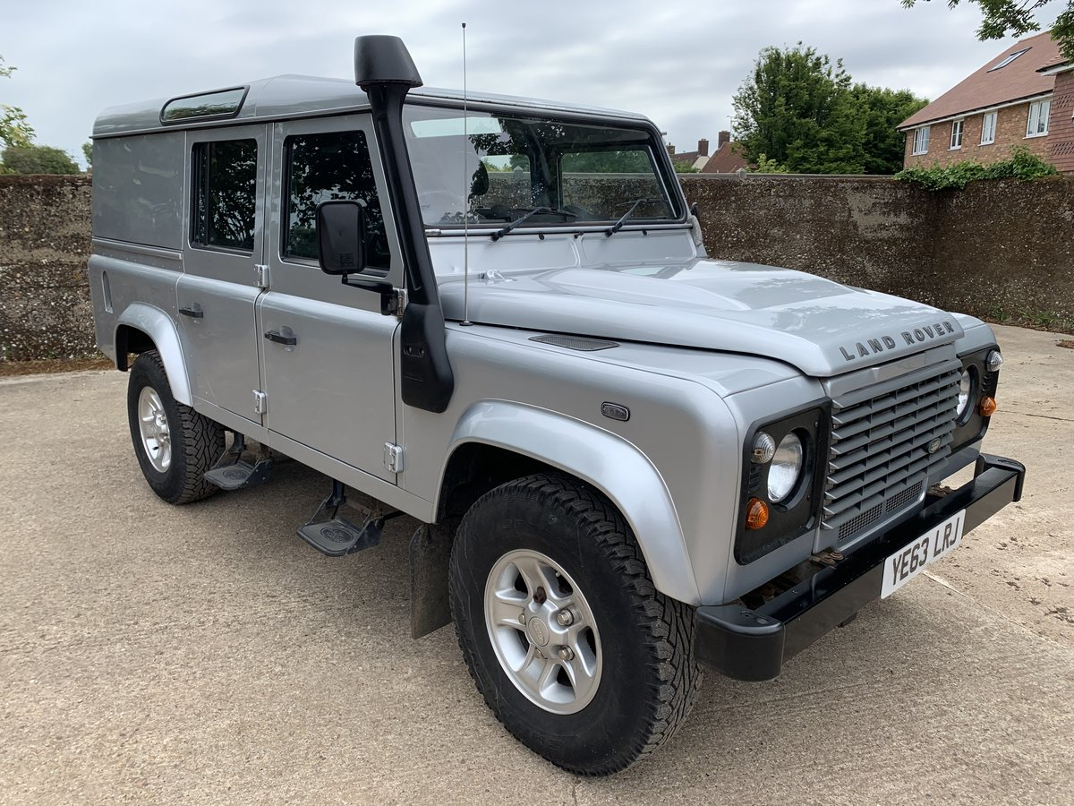 2013/63 Defender 110 2.2TDCi County Utility station wagon SOLD (picture 1 of 6)