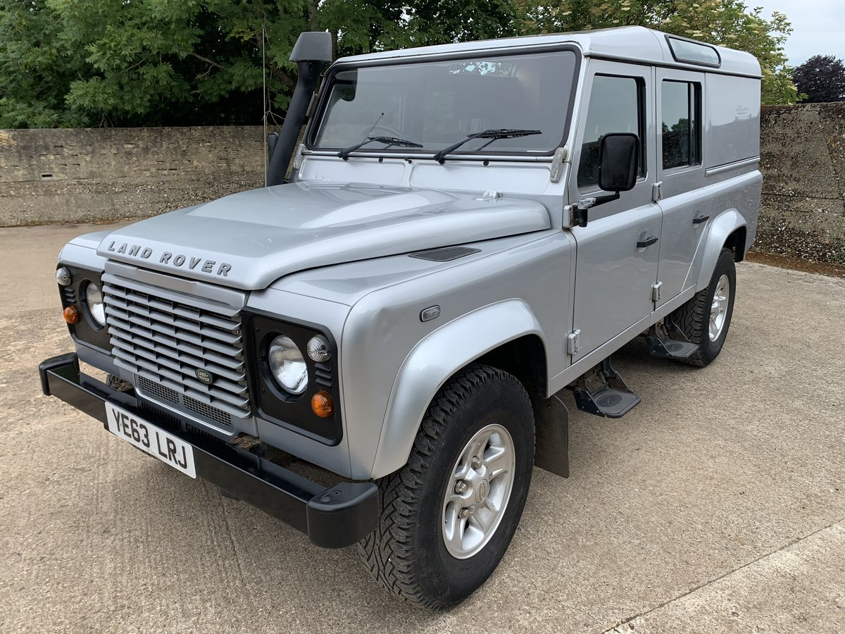 2013/63 Defender 110 2.2TDCi County Utility station wagon SOLD (picture 4 of 6)