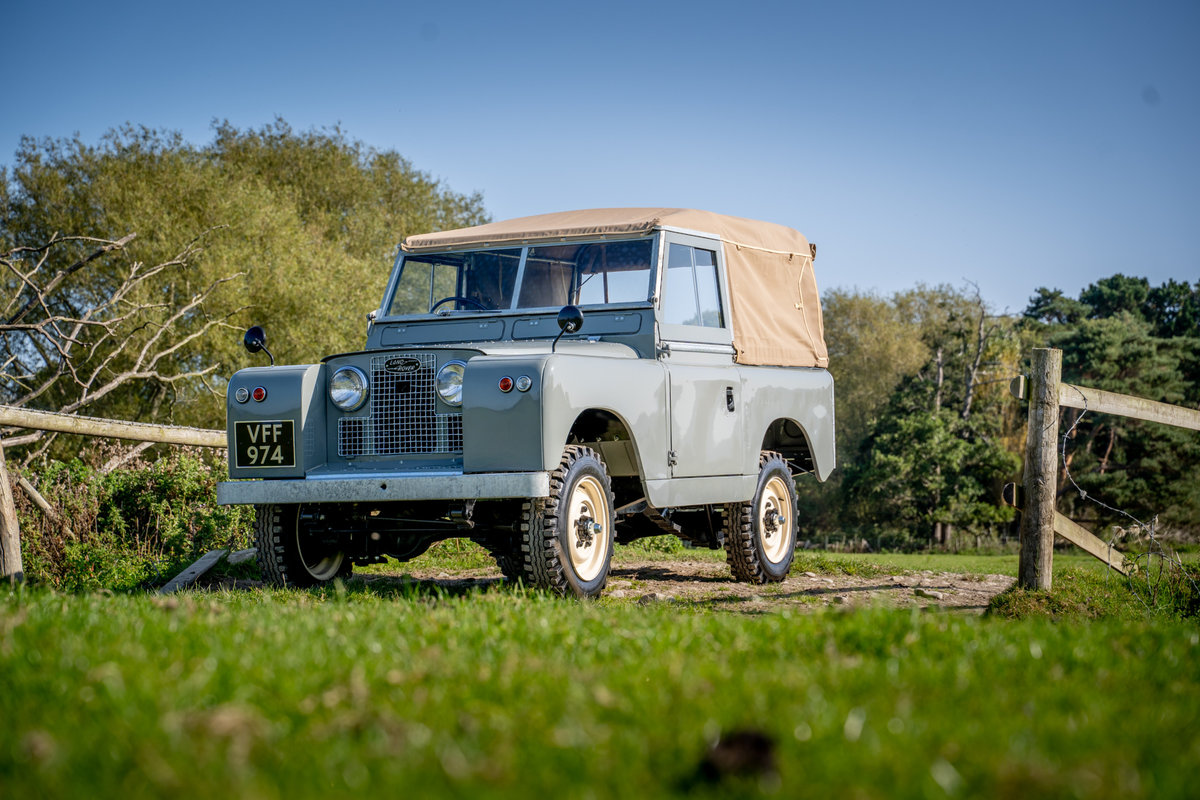 Land Rover Series 2 1958 Early Example with PTO Nut & Bolt R For Sale (picture 1 of 6)