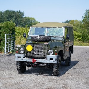 Picture of 1974 Land Rover Series 3 Lightweight FFR Military Very Original 2 For Sale