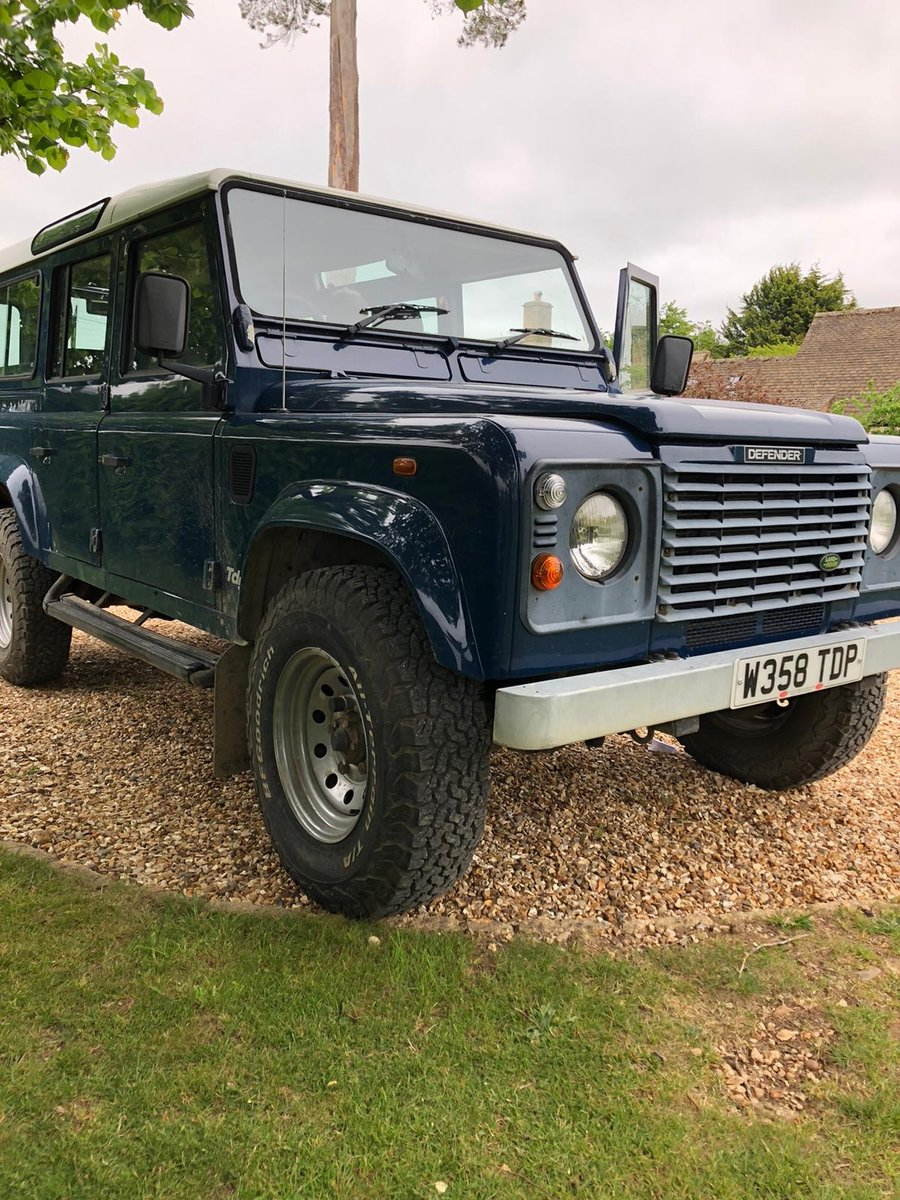 1999 Land Rover 110 TD5 .  LOW MILES . FSH For Sale (picture 1 of 2)