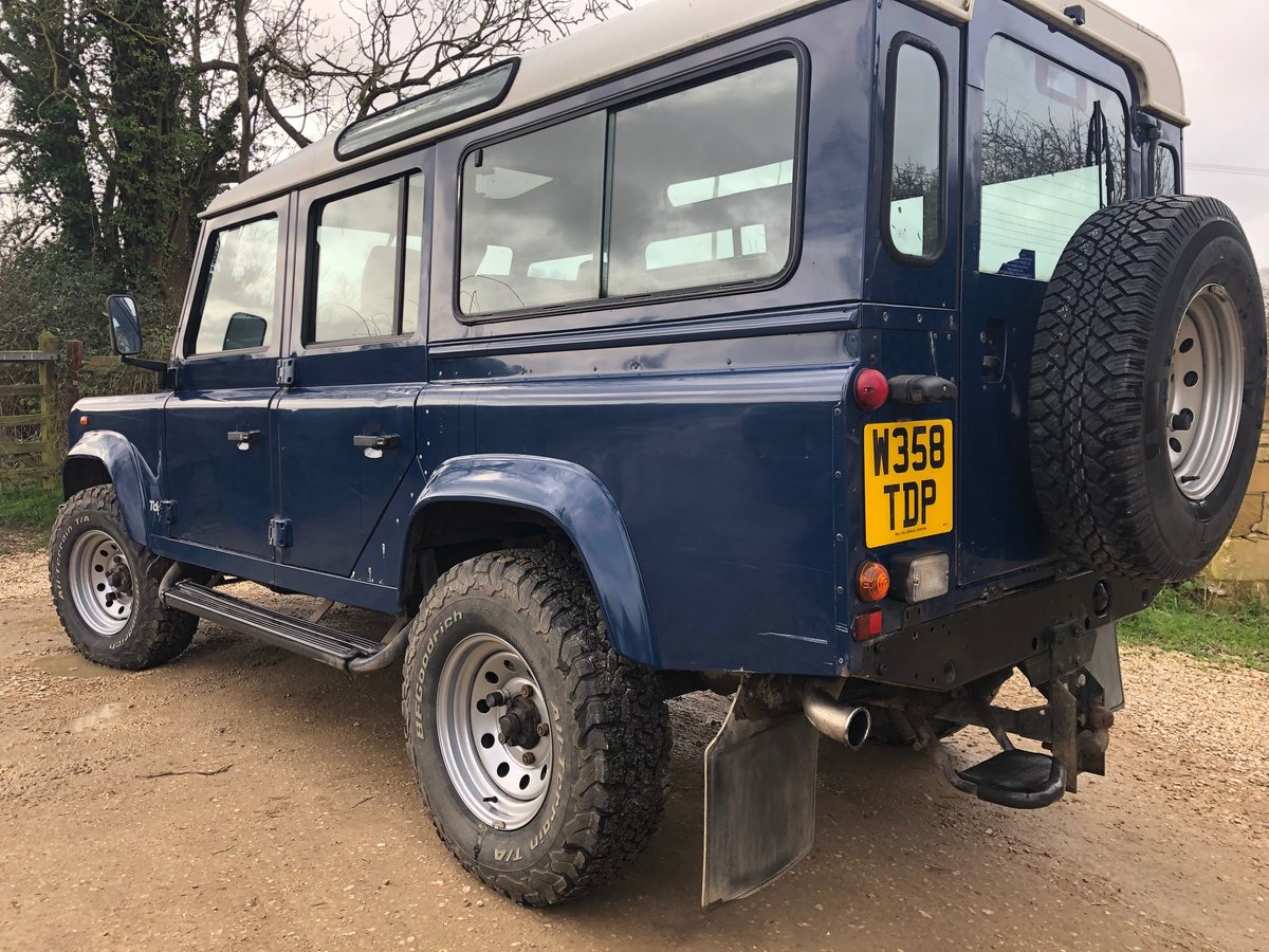 1999 Land Rover 110 TD5 .  LOW MILES . FSH For Sale (picture 2 of 2)