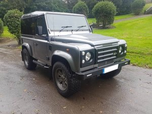 2008 LAND ROVER DEFENDER 90 COUNTY STATION WAGON TDCI