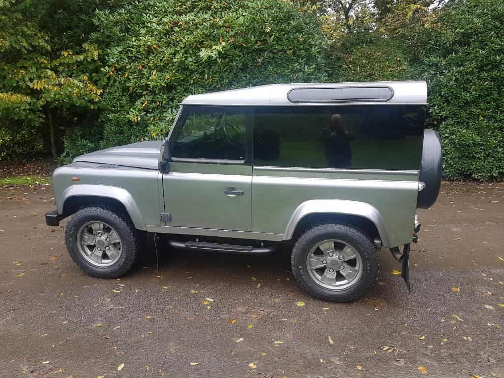 2007 2008 LAND ROVER DEFENDER 90 COUNTY STATION WAGON TDCI  For Sale (picture 3 of 6)