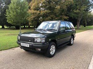 Picture of 2001 Range Rover P38 4.0 62,000 Miles